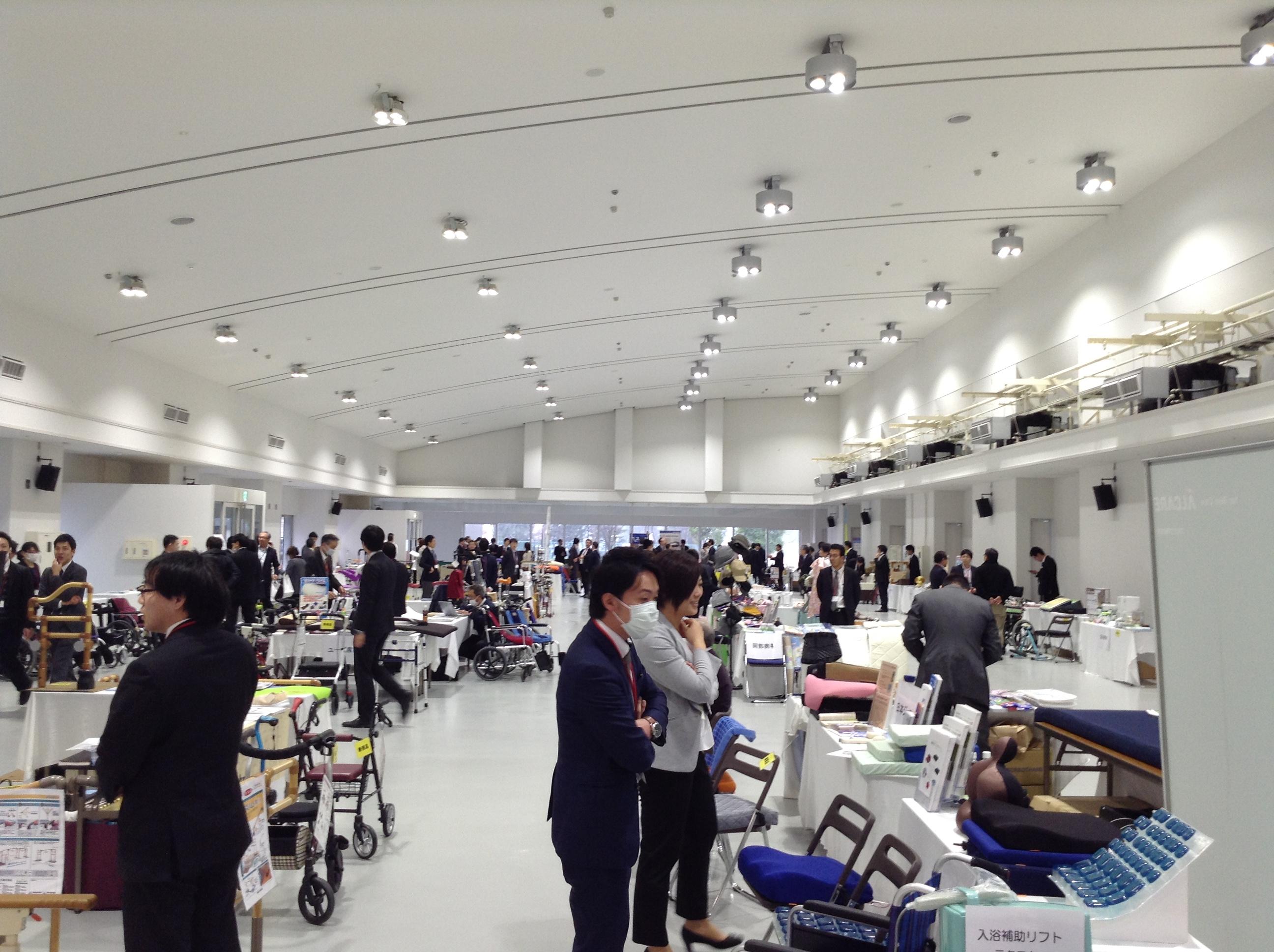 宮城県 夢メッセで展示会を行いました。